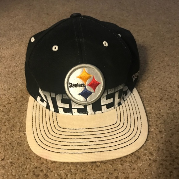 f0ffd1dd Reebok Pittsburgh Steelers Hat (Fitted)